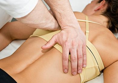 Tipo de atención: servicio quiropráctico