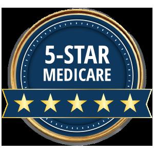 Calificado con 5estrellas por Medicare