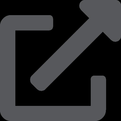 ícono de enlace externo