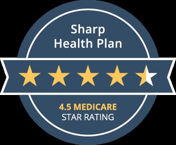 Calificado con 4.5estrellas por Medicare